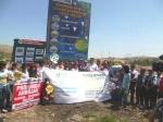 Ceremonia de presentación de áreas verdes de Chuquitanta- San Martín de Porres.